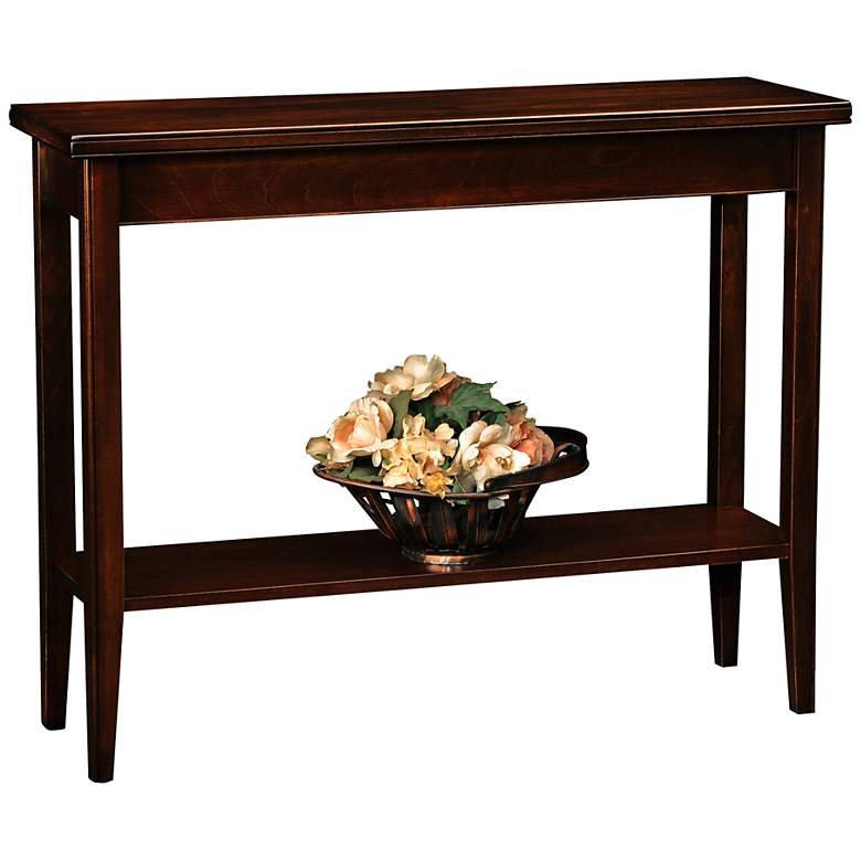 "Laurent 38"" Wide Solid Wood Hall Stand Table"