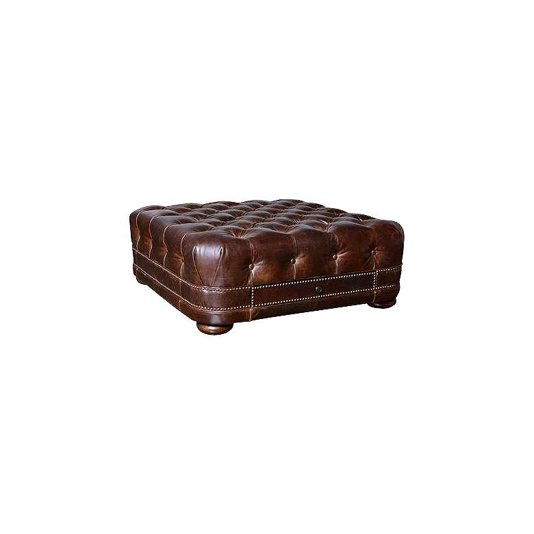Kennedy Square Tufted Cocktail Ottoman