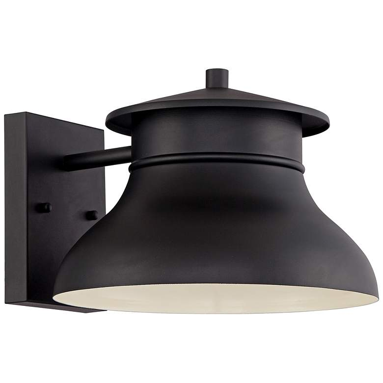 "Danbury 7 1/2"" High Black Dark Sky LED Outdoor Wall Light"