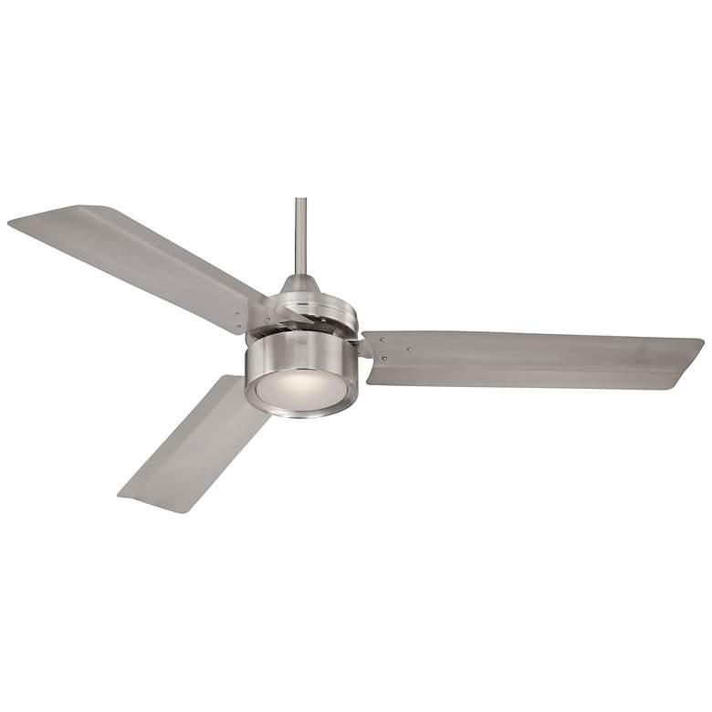 "52"" Casa Arcus™ Brushed Nickel LED Ceiling Fan"