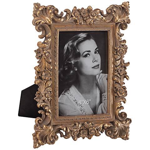 Romano Ornate Antique Gold 4x6 Picture Frame