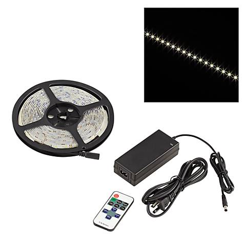 Water-Resistant Indoor Warm White LED Tape Light Kit