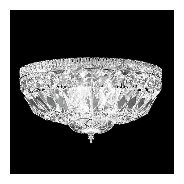 """James R. Moder Impact 12"""" Wide Crystal Ceiling Light"""
