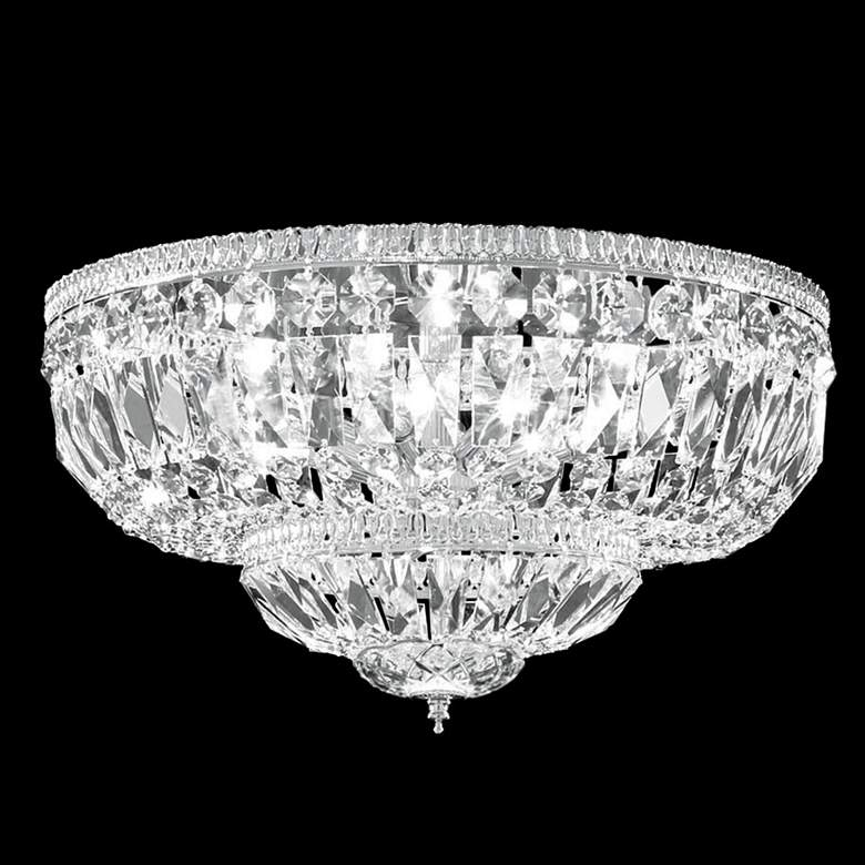 """James R. Moder Impact 18"""" Wide Crystal Ceiling Light"""