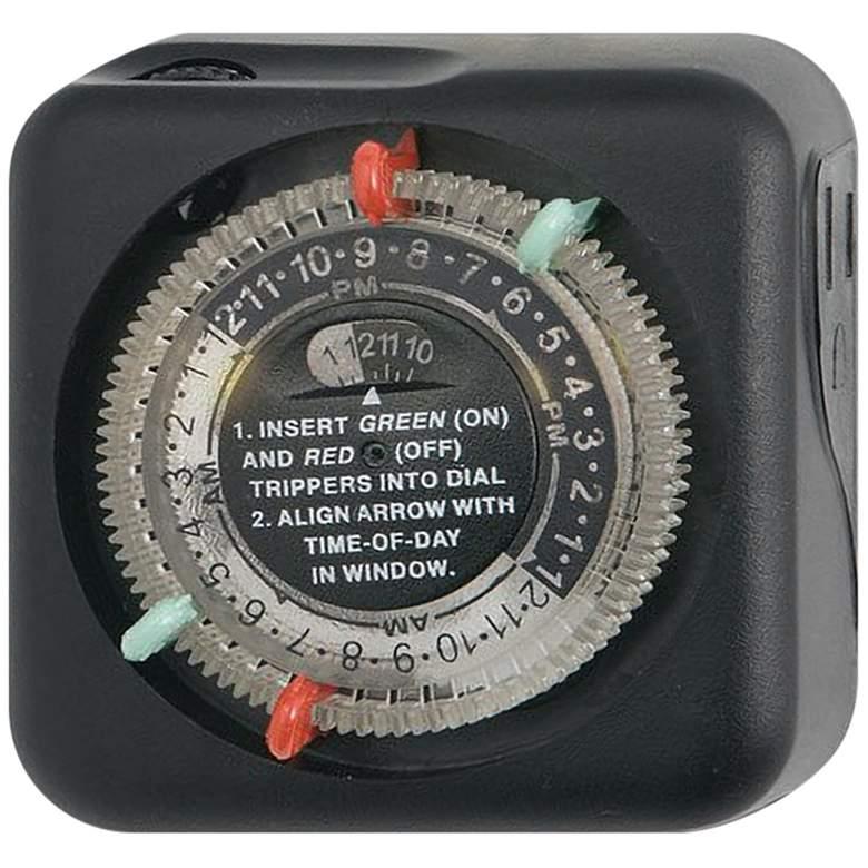 Kichler Black Mechanical Transformer Timer
