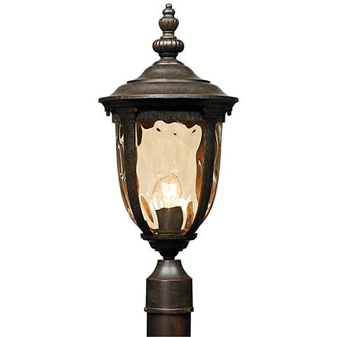 "Bellagio™ Collection 21"" High Post LED Mount Light"