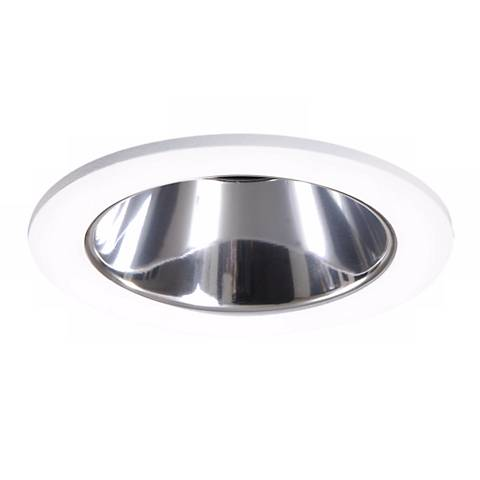 "Halo 3"" White/Clear Reflector Recessed Trim"