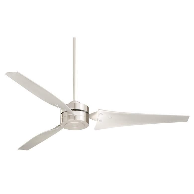 """60"""" Emerson Loft Brushed Steel Ceiling Fan"""
