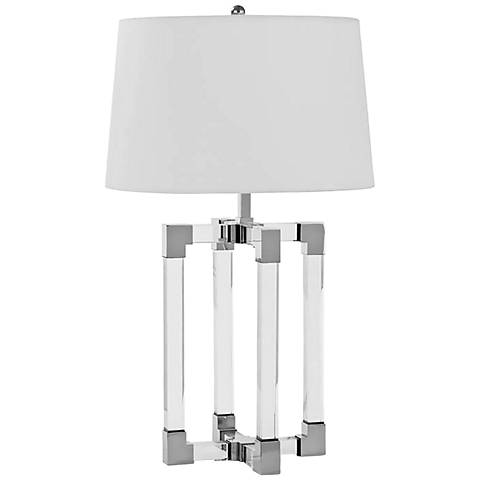 Regina Andrew Design Mina Clear Crystal Table Lamp