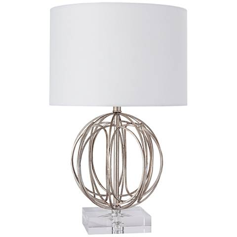 Regina Andrew Design Ofelia Silver Leaf Accent Table Lamp