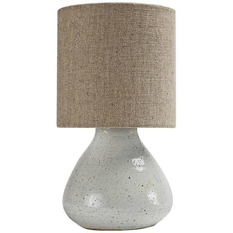 "Mercury 10 1/2"" High White Accent Night Light Table Lamp"
