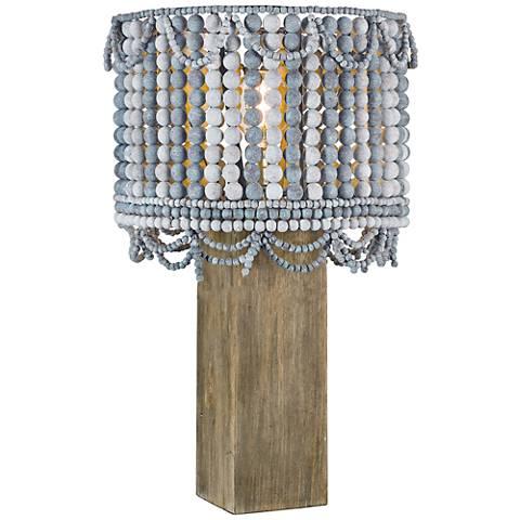 Regina Andrew Design Malibu Weathered Blue Table Lamp
