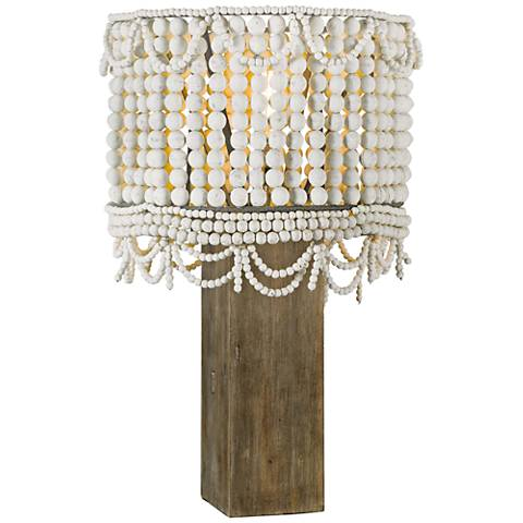 Regina Andrew Design Malibu Weathered White Table Lamp