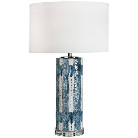 Regina Andrew Design Mali Indigo Ceramic Table Lamp