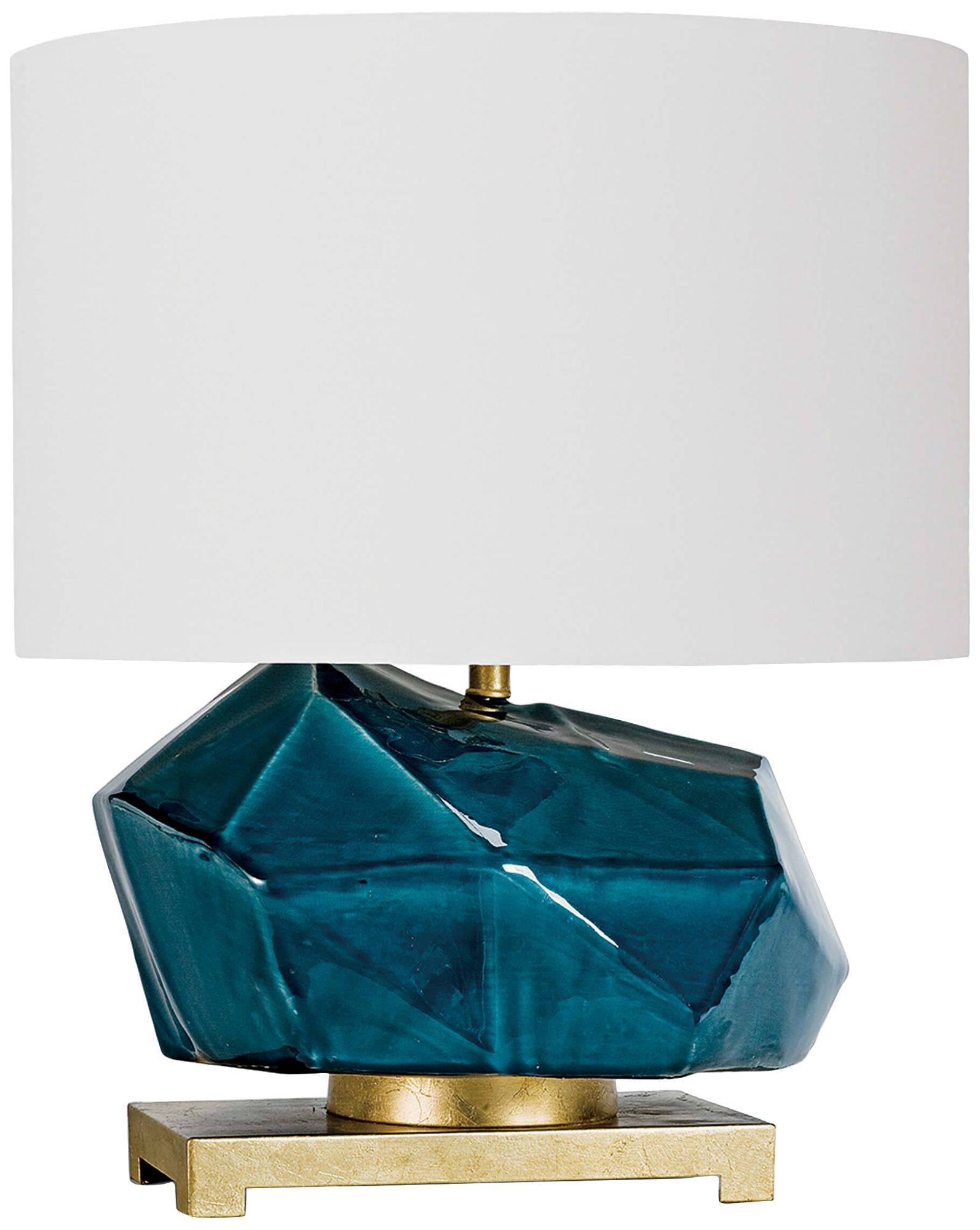 Regina Andrew Design Peacock Blue Ceramic Accent Table Lamp