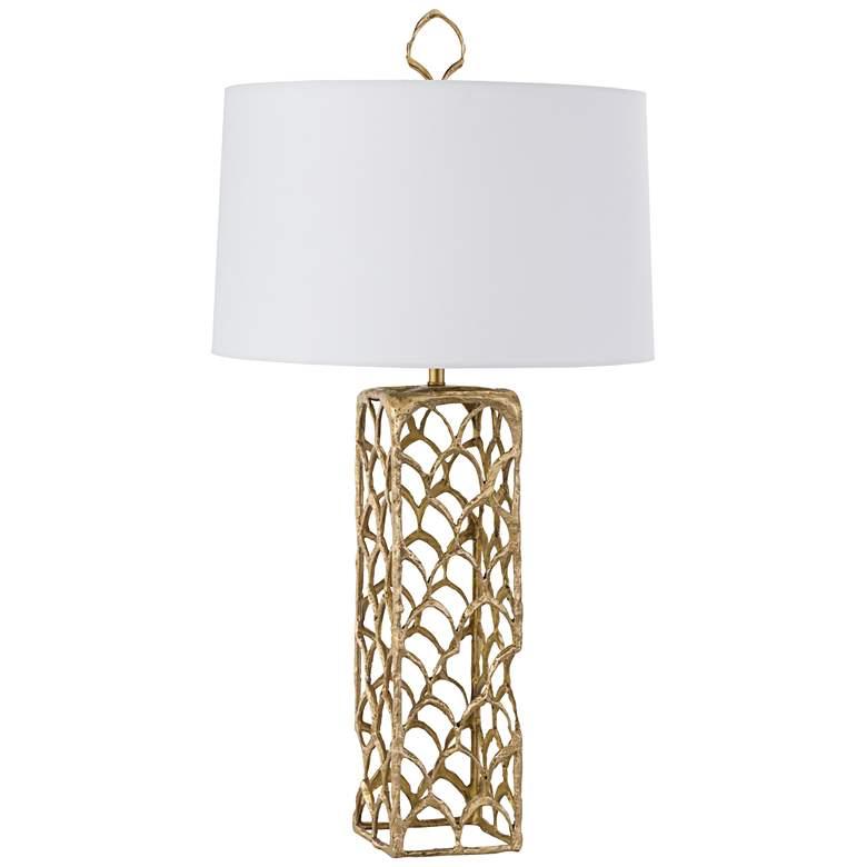 Regina Andrew Cabana Natural Brass Table Lamp