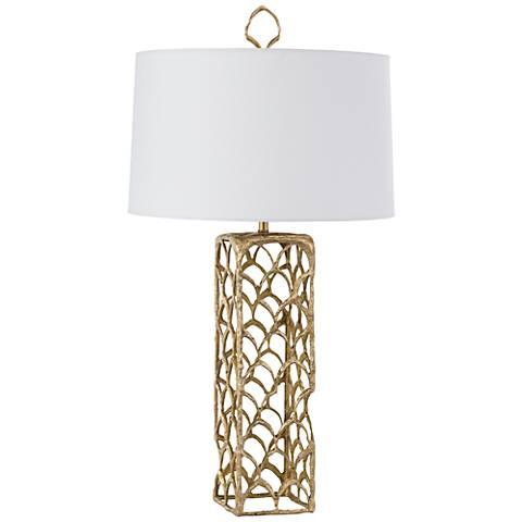 Regina Andrew Design Cabana Natural Brass Table Lamp