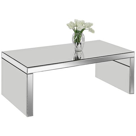 Layla Mirrored Coffee Table