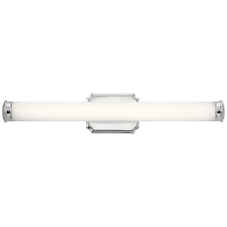 "Kichler Cambria 26 1/2"" Wide Chrome LED Bath Light"