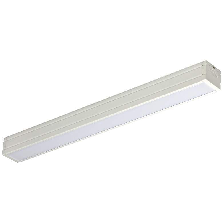 "Nora Bravo Frost 12.83"" Wide White LED Under Cabinet Light"