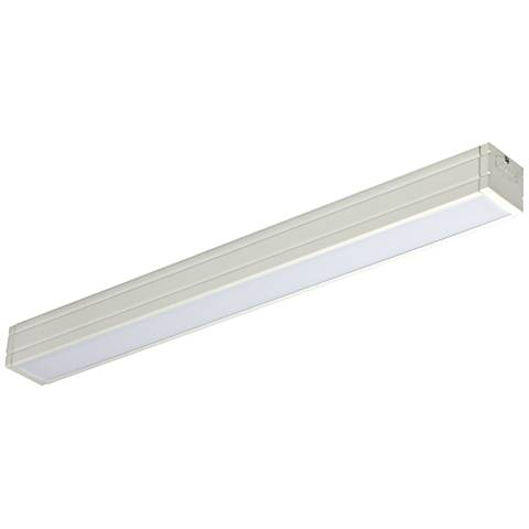 "Nora Bravo Frost 18.83"" Wide White LED Under Cabinet Light"