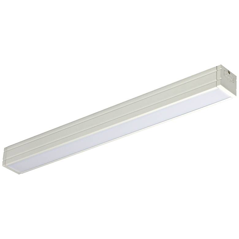 "Nora Bravo Frost 24.25"" Wide White LED Under Cabinet Light"