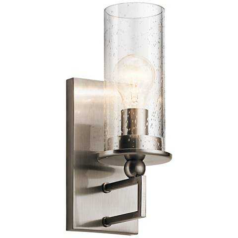 "Kichler Kayde 12 1/2"" High Classic Pewter Wall Sconce"
