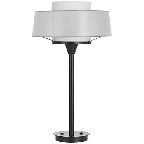 Pana Dark Bronze Metal Table Lamp