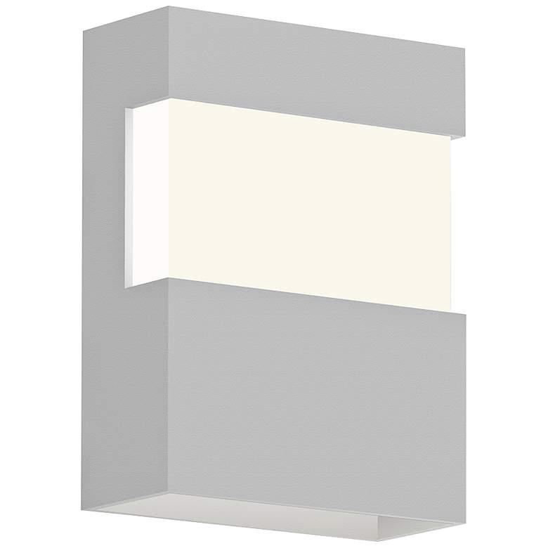 "Sonneman Band 8"" High Textured White LED Outdoor Wall Light"