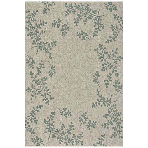 Biltmore Winterberry 4739RS420 Blue Area Rug