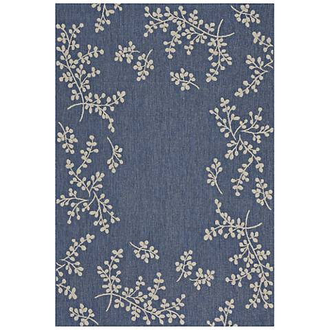 Biltmore Winterberry 4739RS440 Blueberry Area Rug