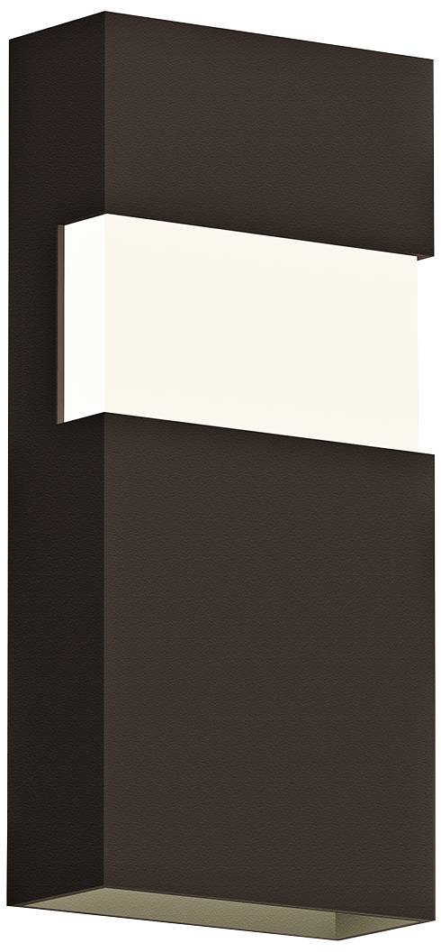 Possini Euro Clemson 13 Quot High Bronze Led Outdoor Wall