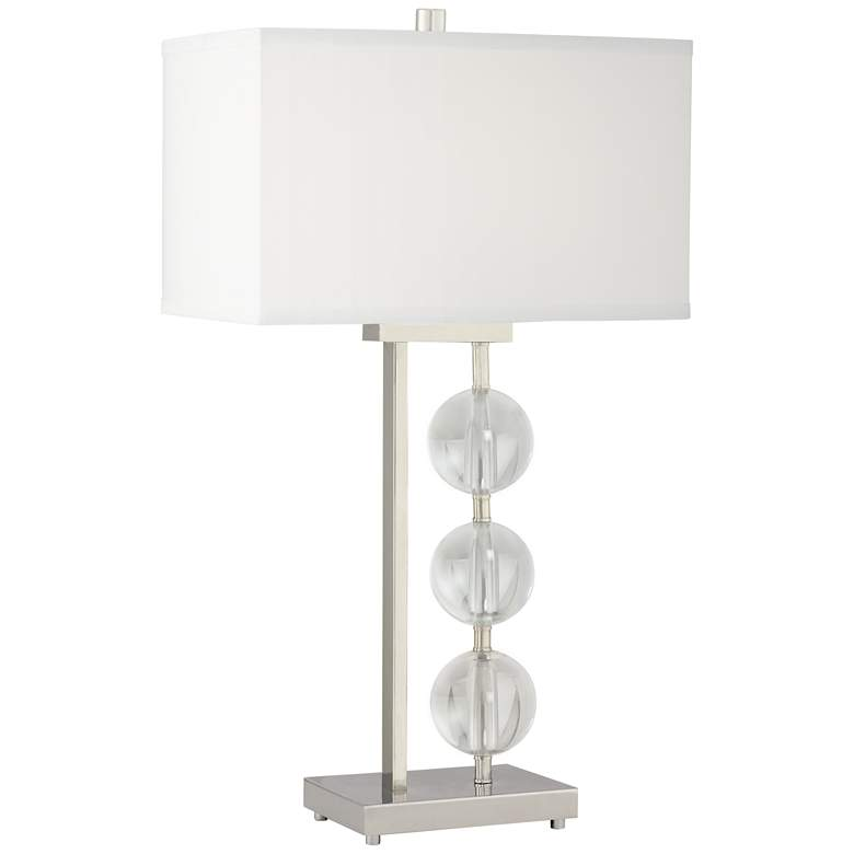 Diamonds And More Glass Table Lamp