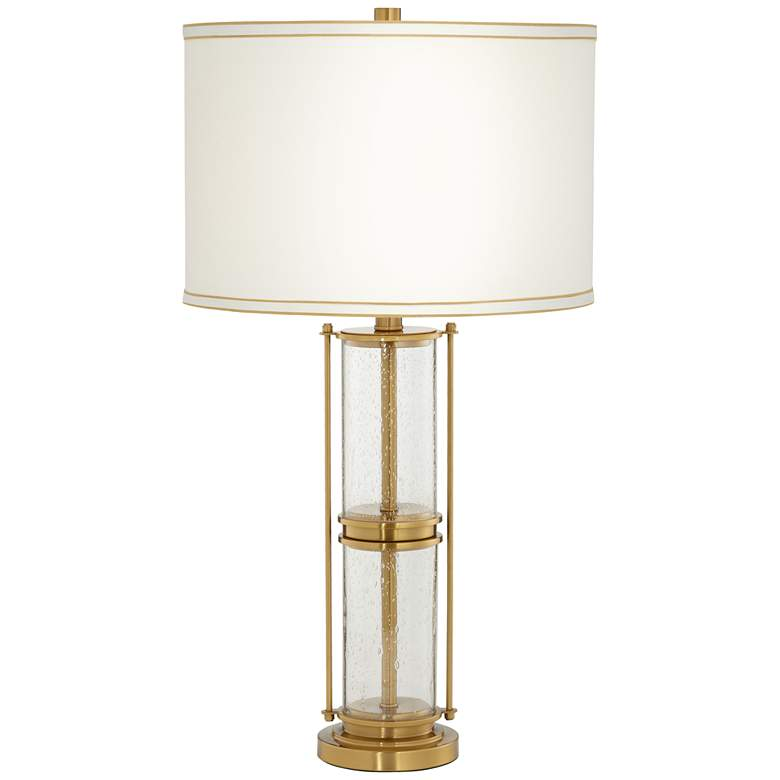 Tansy Antique Brass Table Lamp