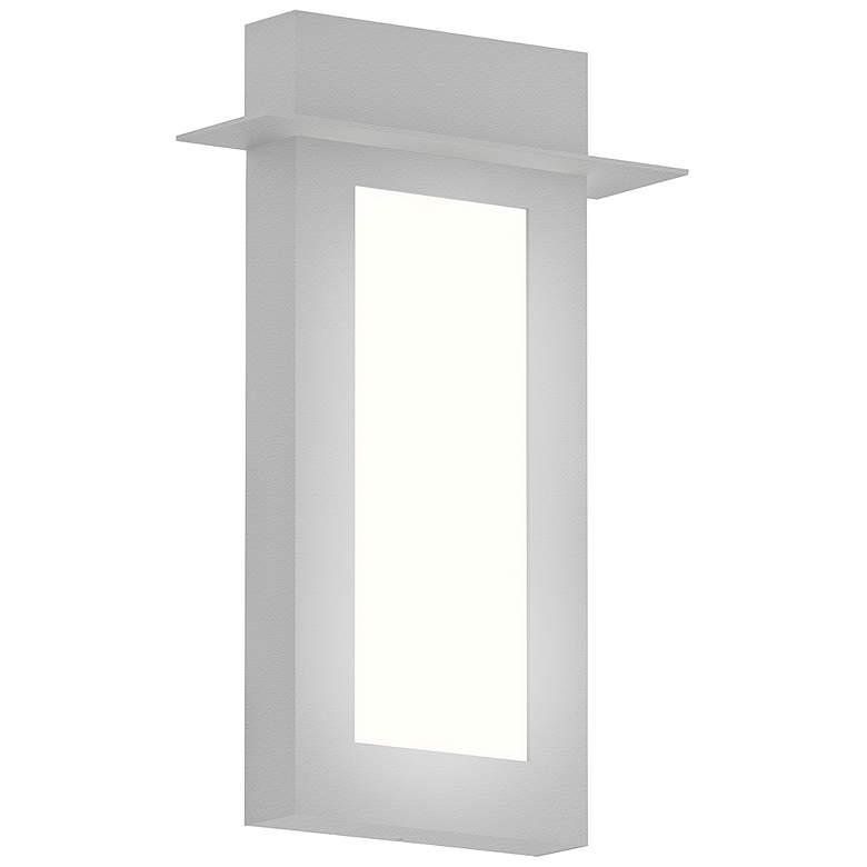 "Sonneman Prairie 18""H Textured White LED Outdoor Wall Light"