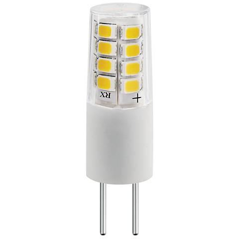 35 Watt Equivalent Tesler 3 Watt LED Dimmable G4 Bulb