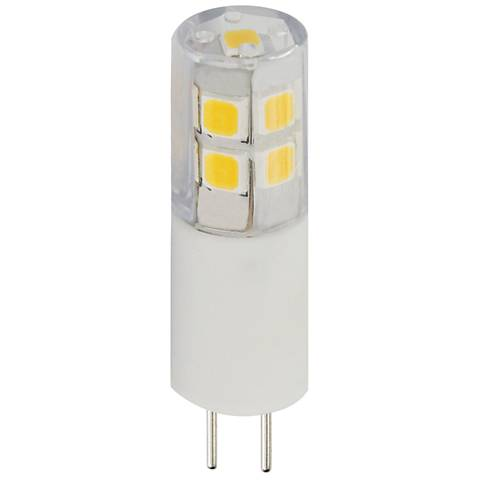 25W Equivalent Clear Tesler 2W LED Dimmable G4 Bulb