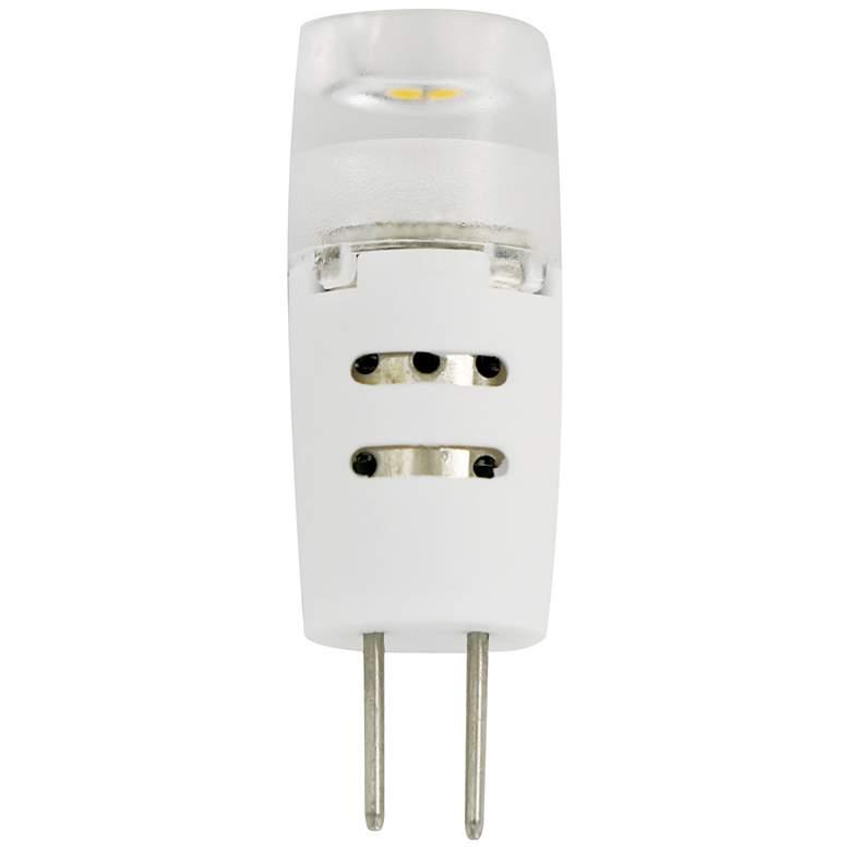 20W Equivalent Clear Tesler 1.5W LED 12V G4 Bi-Pin Bulb