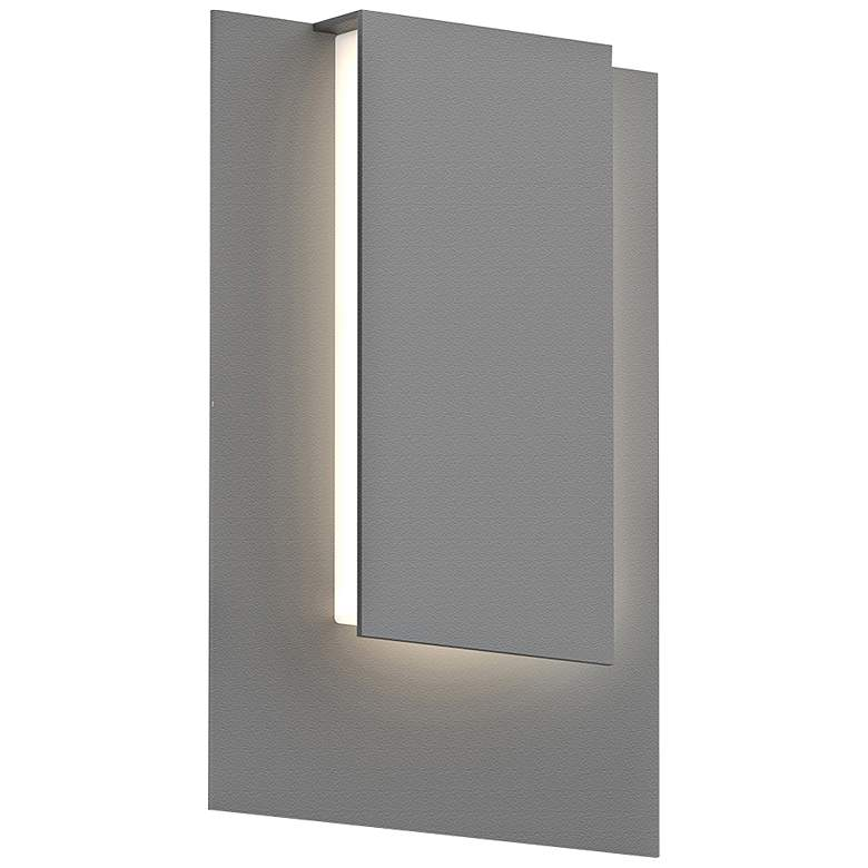 "Reveal 11 3/4"" High Textured Gray LED Outdoor Wall Light"