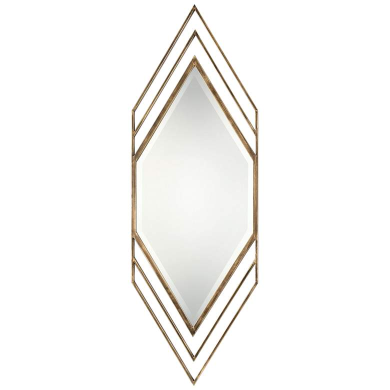 "Uttermost Javon Golden Bronze 20"" x 60"" Wall Mirror"