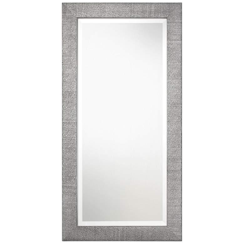 "Uttermost Tulare Metallic Silver 24"" x 48"" Wall Mirror"