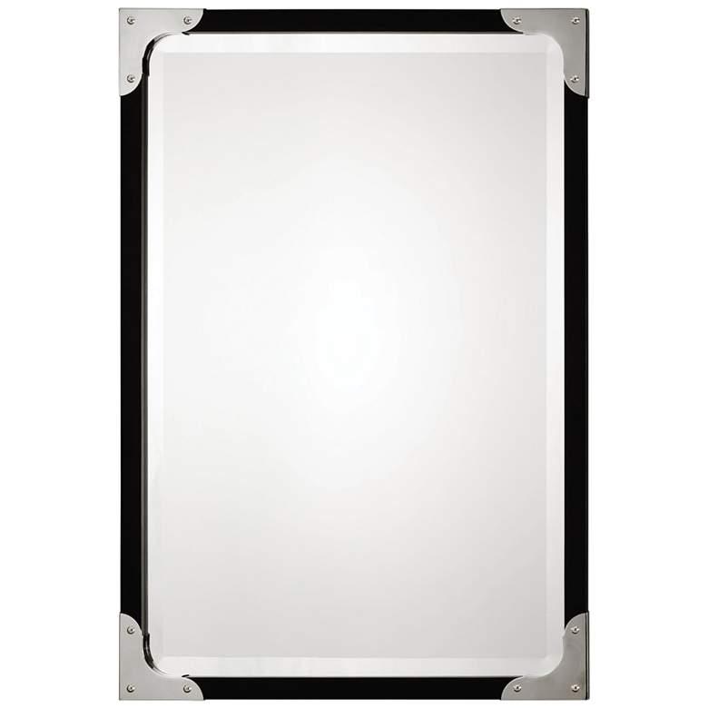 "Uttermost Gilpin Black 26 3/4"" x 38 3/4"" Wall Mirror"