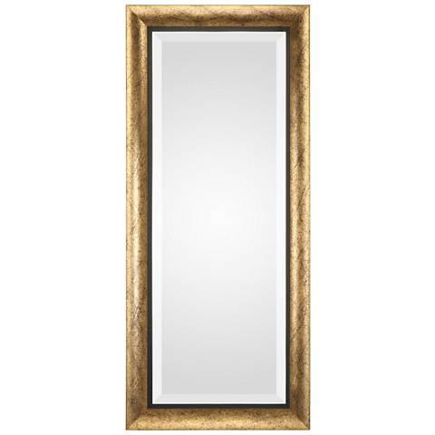 "Uttermost Leguar Metallic Gold 20"" x 46"" Wall Mirror"