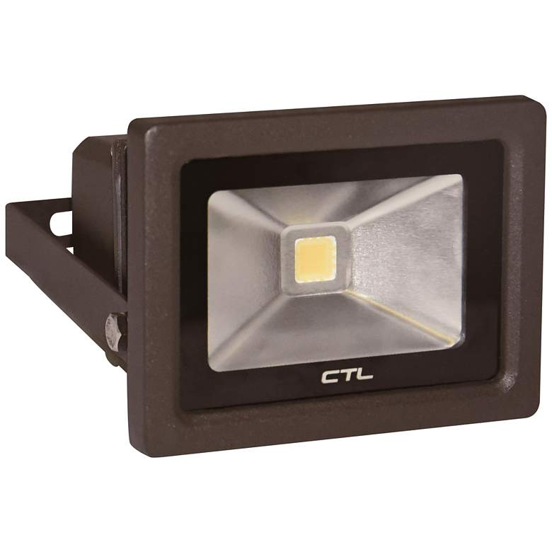 Orion Small Dark Bronze Hardwire LED Outdoor Flood Light
