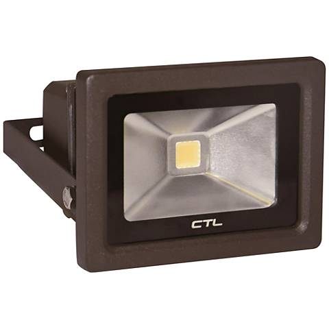 Orion Small Dark Bronze Hardwire LED Outdoor Flood Light