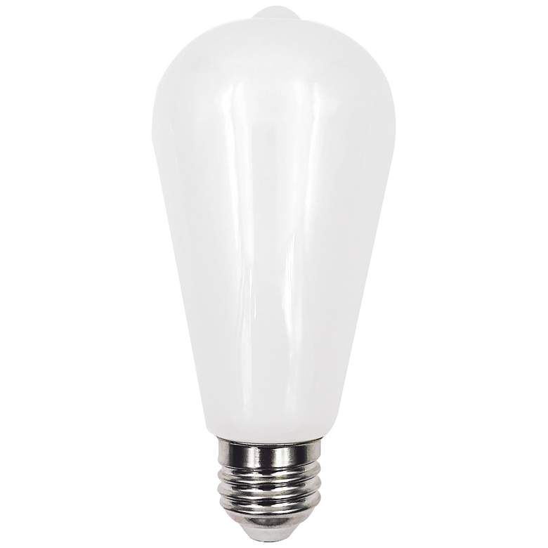 75W Equivalent Milky 8W LED Dimmable Standard Edison Bulb