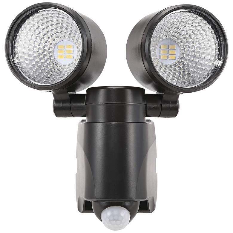 King Bronze Dual Head Solar LED Motion Sensor Security Light