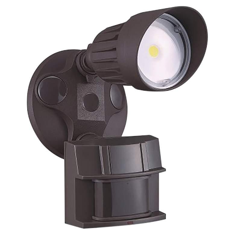 King Bronze Single Head LED Motion Sensor Security Light