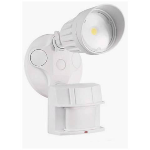 King White Single Head LED Motion Sensor Security Light