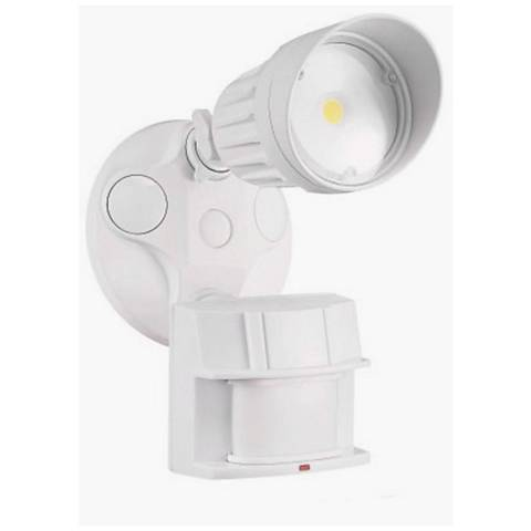 King white single head led motion sensor security light 40v91 king white single head led motion sensor security light workwithnaturefo